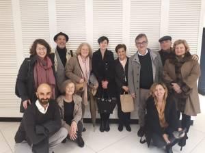 Junta Directiva y socios de Socfia junto a Adela Cortina